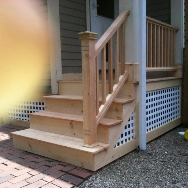 Custom Stairs and Entryway Melrose MA