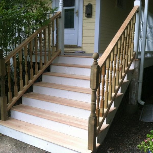 Exterior Entry Stair Designers Melrose MA