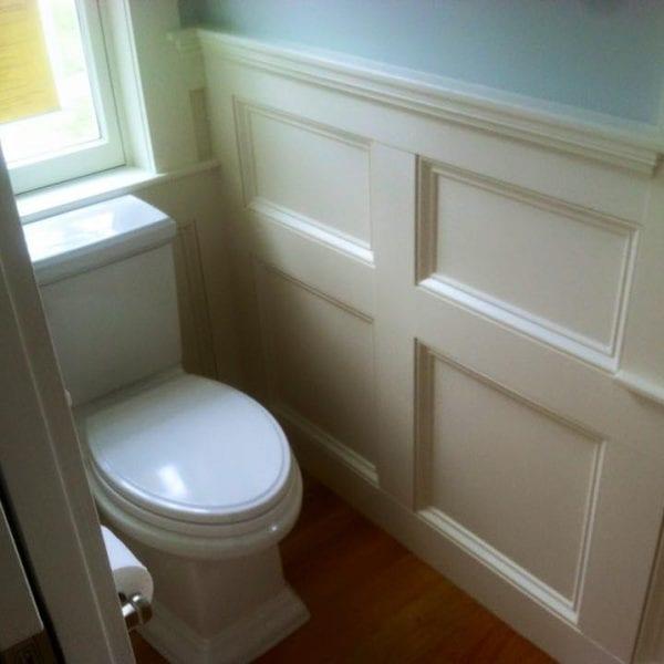 Custom Bathroom Wainscoting Melrose MA