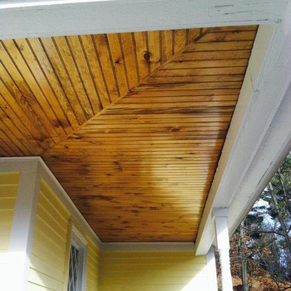 Custom Wood T&G Ceilings Melrose MA