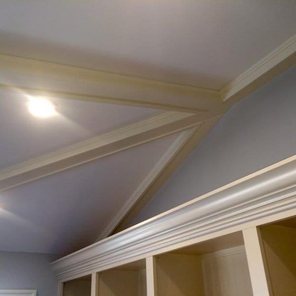 Custom Built Wood Ceiling Beams Melrose MA